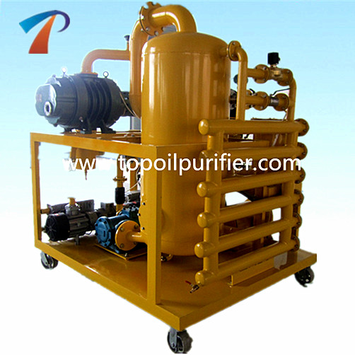 Good Performance Transformer Oil Vacuum Dehydration/Degasification/Filtration Plant, Aging Oil Cleaning and Renewing Machine