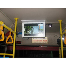 "17"" Inch vehicle metro bus LCD wifi 4G android screen digital advertisement display board"