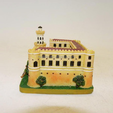 Custom resin 3d castle miniature scale building model
