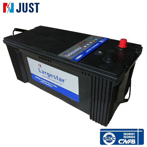 MFN150 factory full weight of truck deep cycle battery with150ah