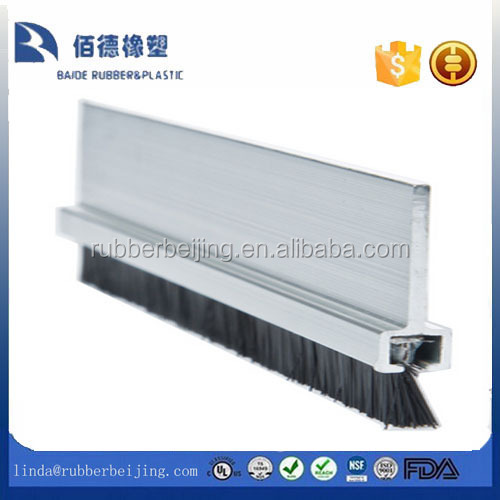 CLEAR STRIP DOOR BOTTOM BRISTLE BRUSH DRAUGHT EXCLUDER STOPPER SWEEP <strong>SEAL</strong> 9462