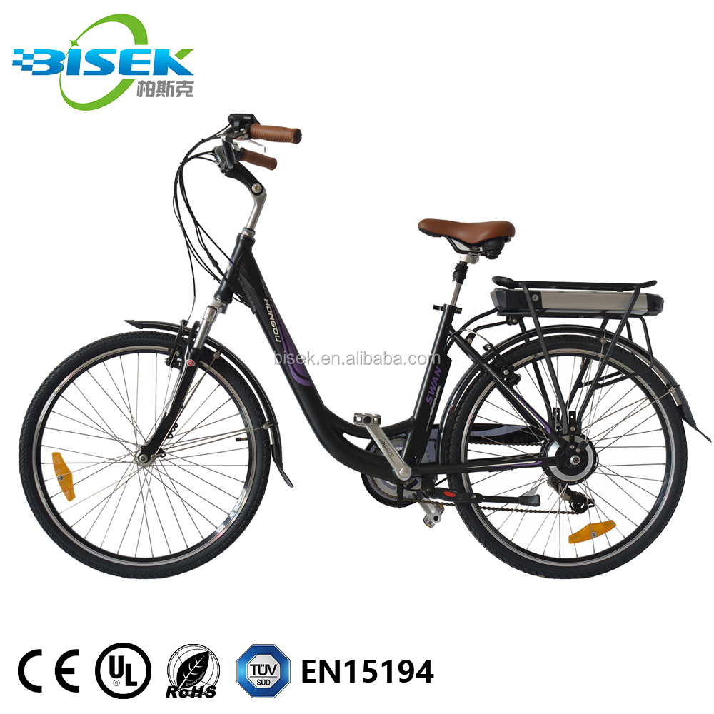 26'' <strong>City</strong> Electric Bicycle Ebike with 36V 10.4Ah Lithium Battery for Women