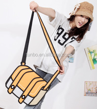 China novelty 2d 3d camera shape cartoon shoulder bag manufacturer