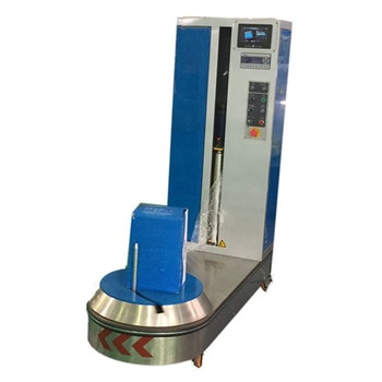 Myway brand hot selling luggage wrapping machine
