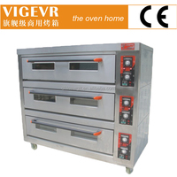 3 deck bakery oven,bakery plant,electric commercial rotary oven manufacture