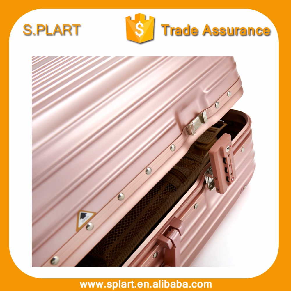 Travel suitcase set aluminum frame abs pc airport lucas luggage review