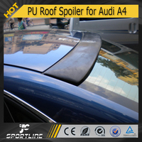 JC Auto Parts ABT Style PU Roof Spoiler for Audi A4 B6