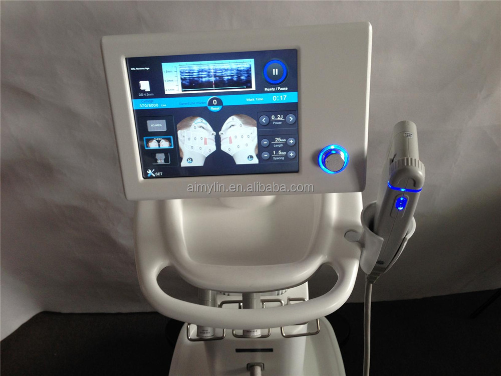 hifu machine/high intensity focused ultrasound hifu for wrinkle removal / hifu face lift