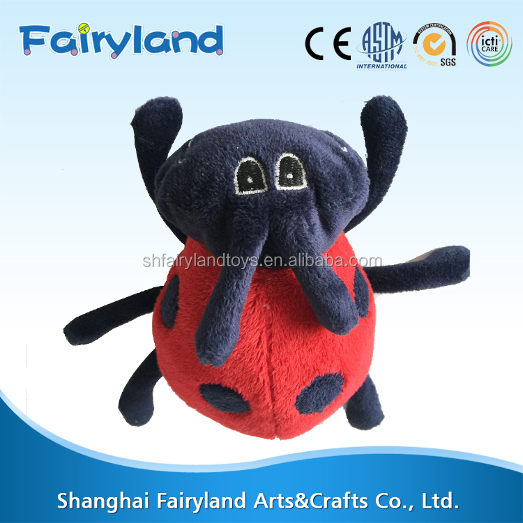 China manufacturer wholesale Lady beetle stuffed toy