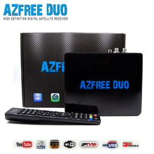 AZFREE DUO Full HD Digital Satellite receiver DVB S/S2 MPEG 2/4 H.264 IKS + SKS Chile Argentine South America IPTV