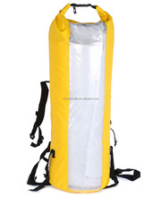 Waterproof 500D PVC Tarpaulin Adjustable Shoulder Strap Gear Dry Bag