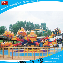 Crazy and stimulate Outdoor playground merry go round bees world (3 players) Spray 12 seats