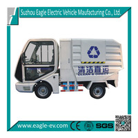 Electric trash trucks, lifted rear container, EG6022X, CE apprved