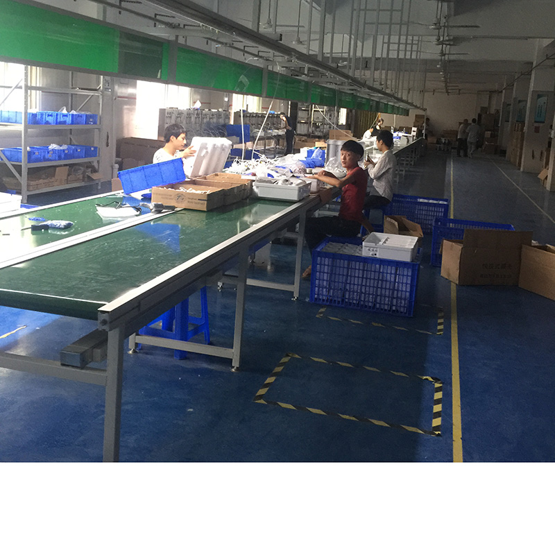 Portable Aluminum Profile Conveyor Belt Assembly Line For Malaysia