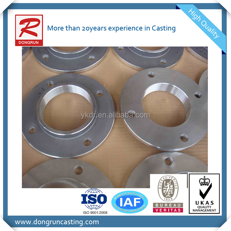 China professional aluminum foundry and machinery workshop supply oem forged flange