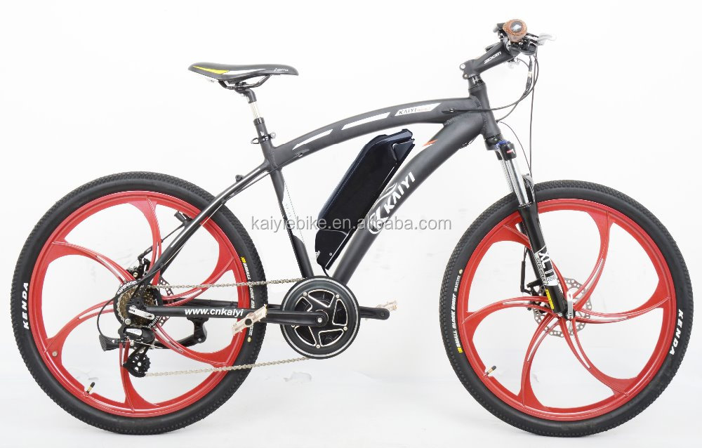 middle drive electric mountain bike / 26' bafang motor electric bike/ big power electric bicycle