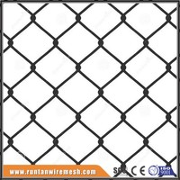 Trade Assurance china supplier 6ft 9 gauge galvanized chain link fence