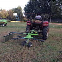 New Type garden tractor hay tedder for sale