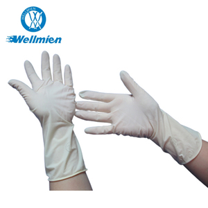 China Manufacturers Disposable Sterile Latex Surgical Work Gloves