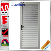 AS2047 aluminum fix frame louver with adjusting blades louver door in low price