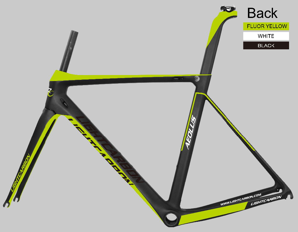 700c carbon aero road frame with BB86 LCR004-V carbon road frame 54cm