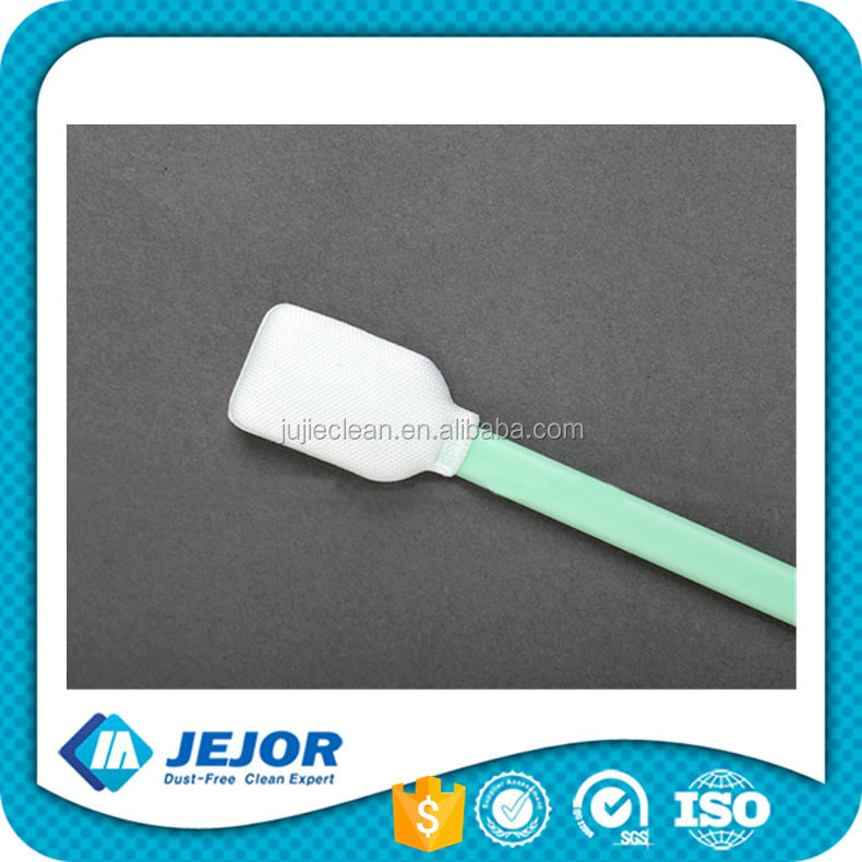 Antistatic Microfiber Swab Free From Silicone Amide Or Dop