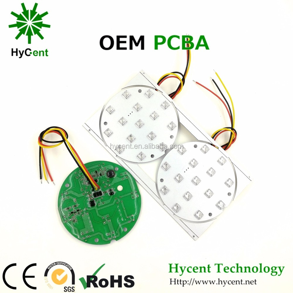 Hycentech modified Car LED PCB OEM design from PCBA manufactuer support PCB prototyping & PCB copy for auto/moto LED PCBA