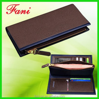 Luxury and elegance appearance genuine leather coin purse for male