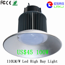 Super brightness 110lm/w 100w industrial Led High bay Light/ hay bay led 100w led high bay lamp price