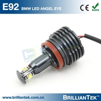 40W Super Bright 12v Angel Eye Car LED Side Marker Head Light For E92 H8