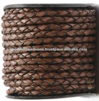 Bolo Leather Braided Supplier