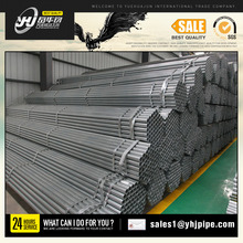 Galvanized steel pipe for scaffolding construction steel