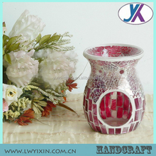 Hand made new design glass mosaic incense oil burner