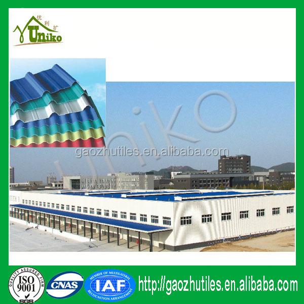 Pvc de techo de teja de proveedor chino de larga vida de servicio ligero de pl stico corrugado - Material construccion barato ...