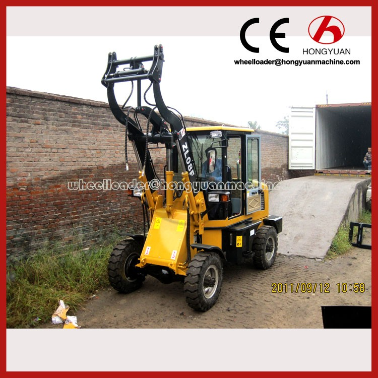ZL08F mini loader with CE on sale