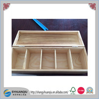 High quality wooden flower seed box with compartments