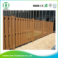 High Quality Crack-resistant Wpc Fence Upright Post