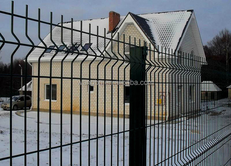 Commercial factory of Cheap ground anchor foundation wire mesh fencing for solar power system