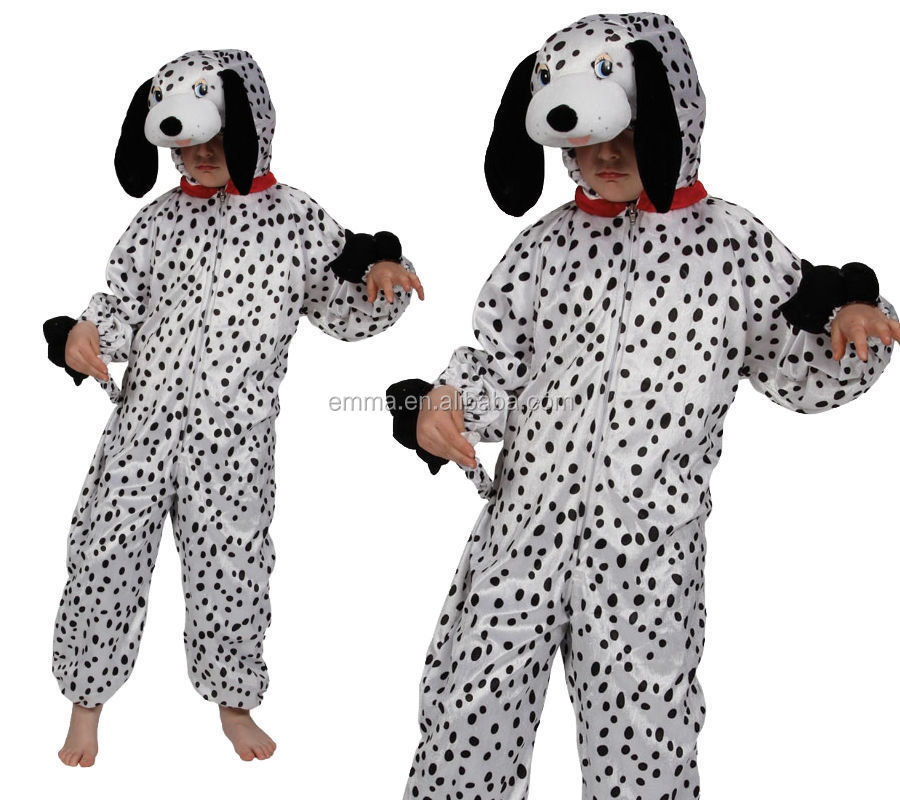 Halloween Cosplay Dalmation Kids Children Party Dresses Puppy Dog animal Onesie Costume BC14241