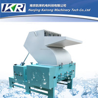 PET PE waste plastic recycling crusher conveyor feeder machine