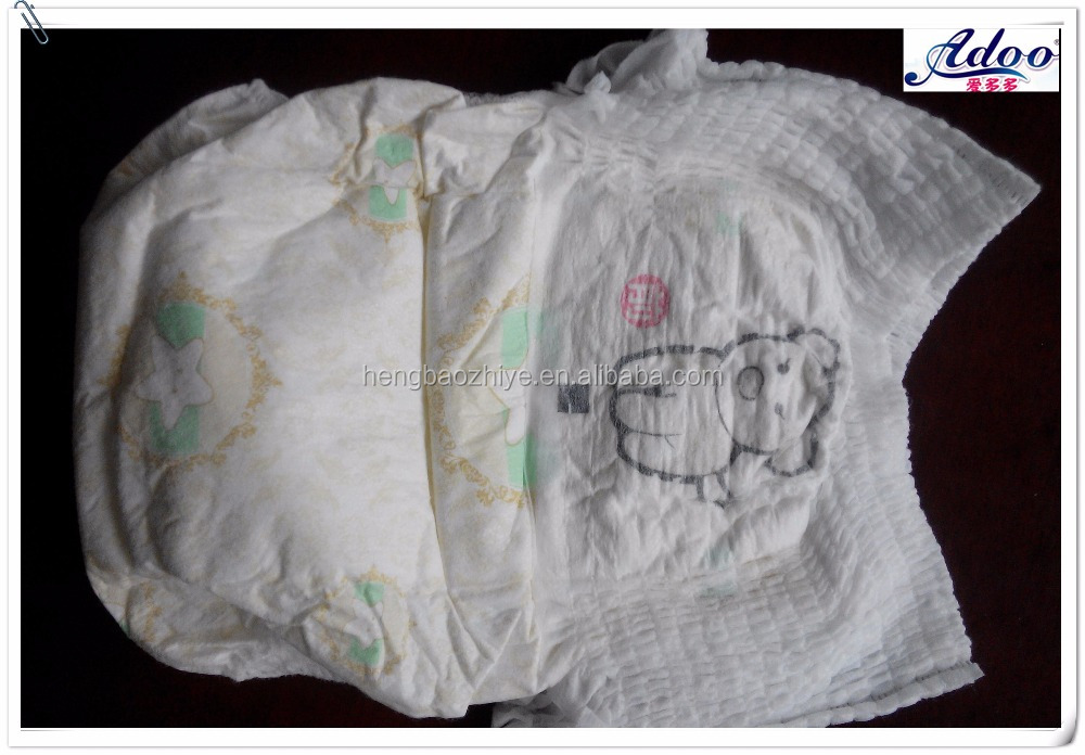 Grade A super absorbent cotton training pants baby diaper and disposable baby diapers manufacture