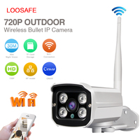 Outdoor bullet 720P 30 meter ir distance small mini size wireless ip hd cctv wireless camera