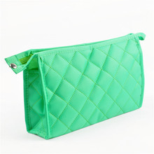 Customizable Promotional Quilted Travel Cosmetic Bag