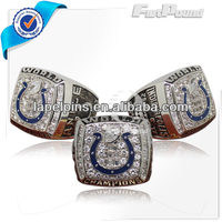 Fashionable Silver Customized Championship Rings