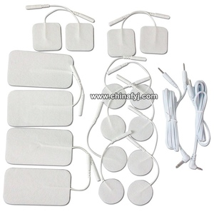 adhesive tens electrodes gel pad for all pin lead wire applications Including EMS IF MC NME HVGPS Massager