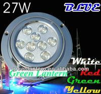 Full CE and RoHS Approved Surface Mount Marine underwater Light 9*3 W