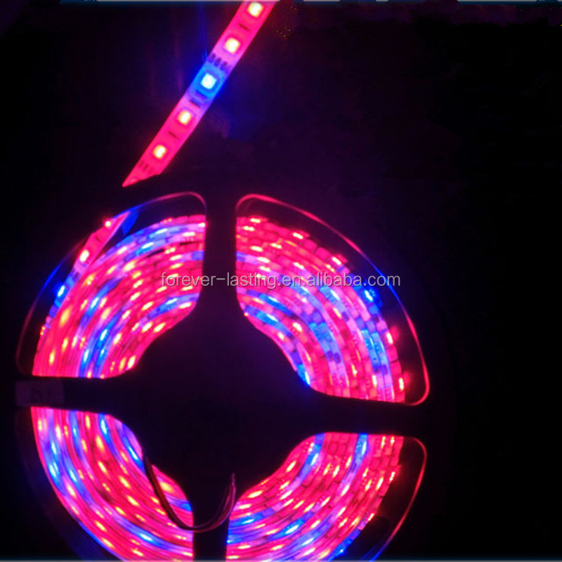 Grow Led strip SMD5050 Red Blue Led grow lights grow tent 72W Led Flexible Strip Tape Light Waterproof Plant lamp