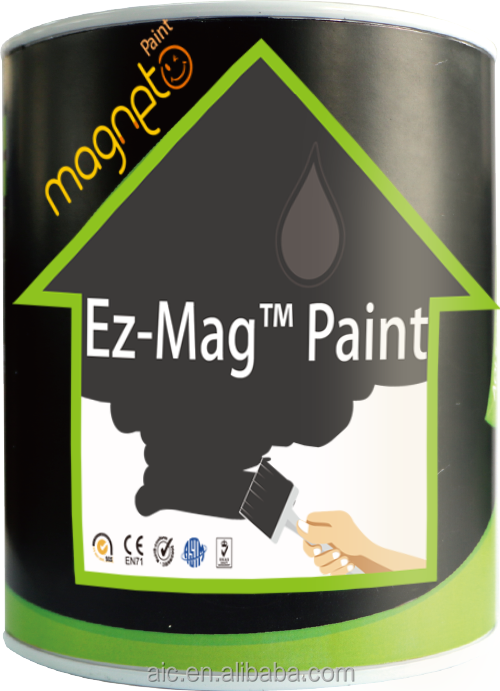 Innovative magnetic wall paint