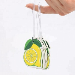 Safe Lemon Fragrance Free Car Air Fresheners