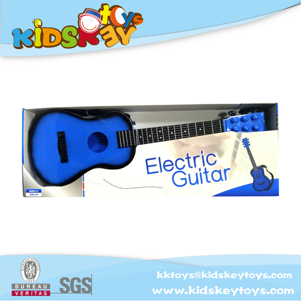 Electronic guitar 2017 China plastic guitar learning toys educational for baby musical hanging toys